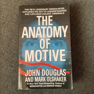 Other - The Anatomy of Motive paperback